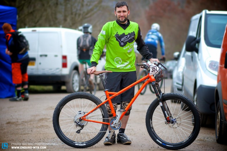 Great to have racing still with a Hardtail category