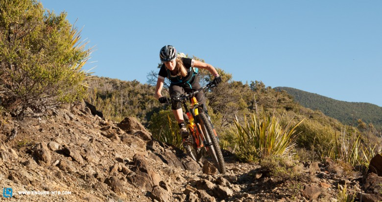 One city in New Zealand it seems is producing some of the top enduro female riders (photo by Matt Wood)