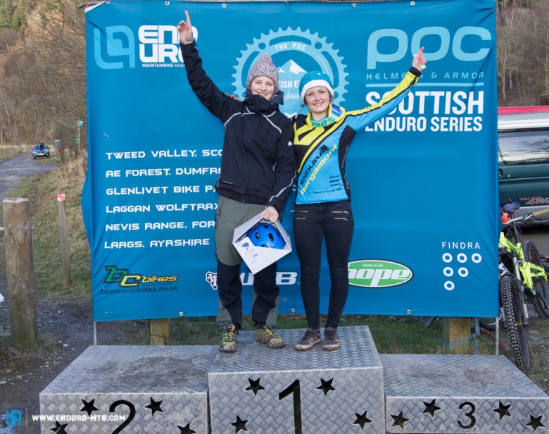 Women's Catagory: 1st Katy Winton, 2nd Jess Stone, 3rd Rachael Walker
