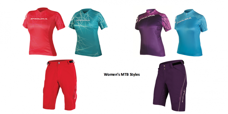 Of course Endura also have lots of new, stunning, colourful MTB kit for ladies!
