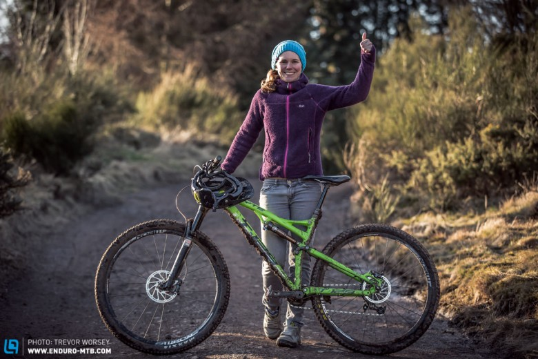 Awesome fun on the Whyte T-129 Works