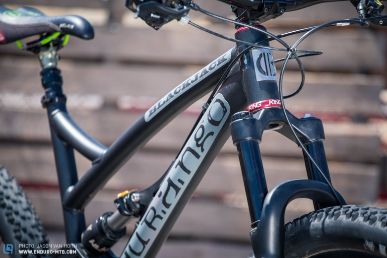 Durango Bike Co. offer the Blackjack in three complete builds.