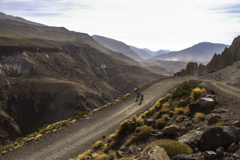 The 300 km route is beautiful, but intimidating.