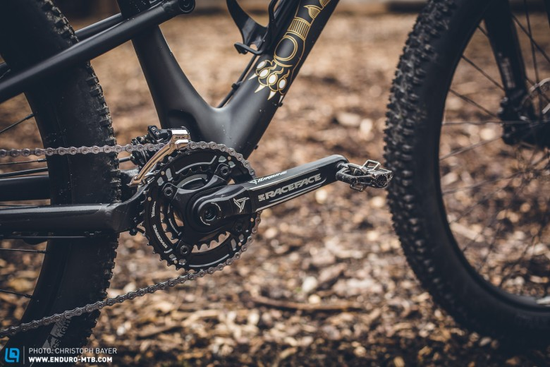 The 2×10 drivetrain should see you up long climbs, despite being laden down with gear.
