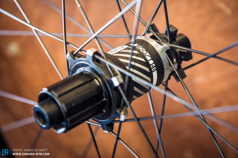 The six bolt compatible Rapid Drive hubs should ensure quick pick-up