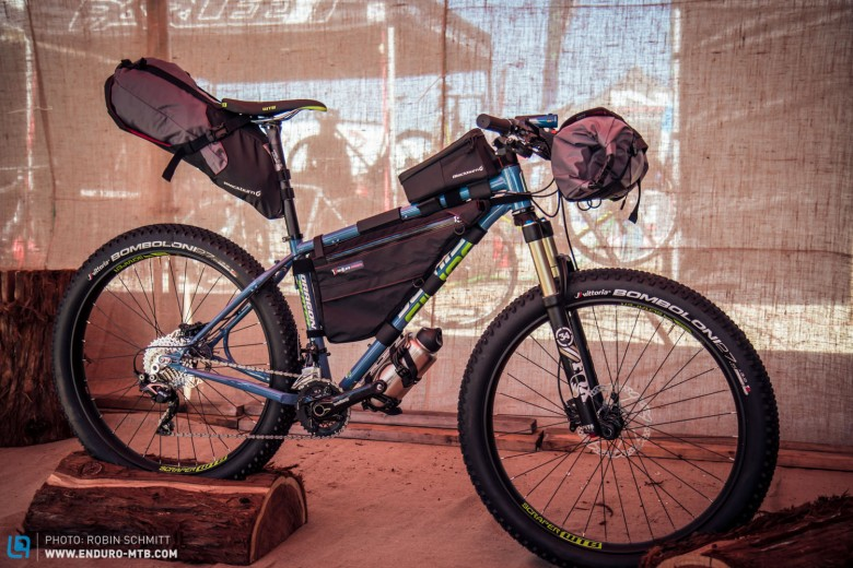 This bike certainly has all the key features of big adventure riding.