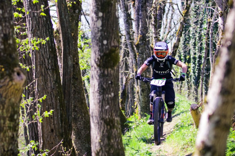 Lorraine TRUONG is a real racer and got her 1st victory today! She is one of the most promising in the EWS.