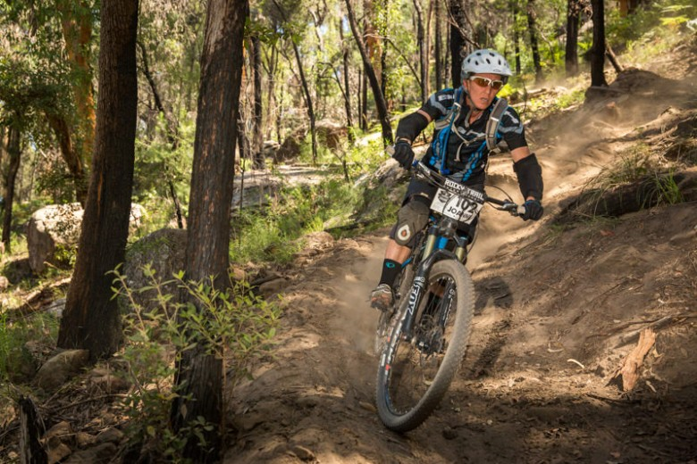 Joanne Fox, trail builder and winner at Del Rio, now on equal points with Vanessa Thompson ahead of round three.