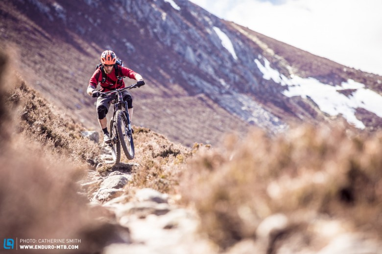 When the going gets rocky, the Enduro Edition is a favourite