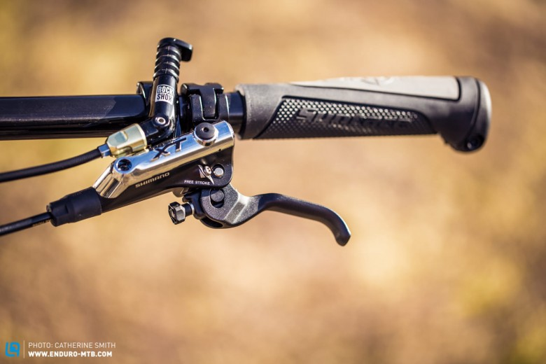 Both models trust to reliable Shimano Xt stoppers