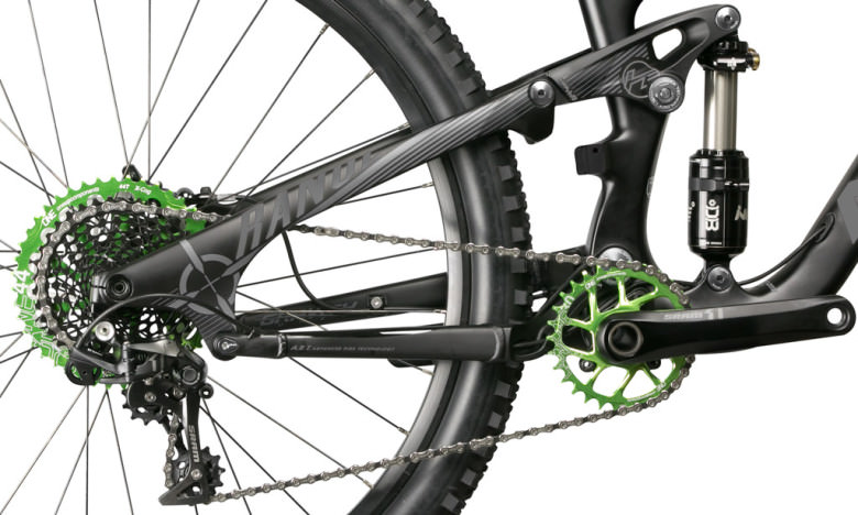 OneUp-Components-X-Cog-44T-Sprocket-GRN-30T-SDM-Narrow-Wide-Chainring-GRN-Sram-X01-Norco-2014-Range-1024