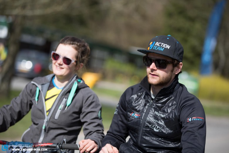 The enduro dream team, the Callaghwintons  are unstoppable