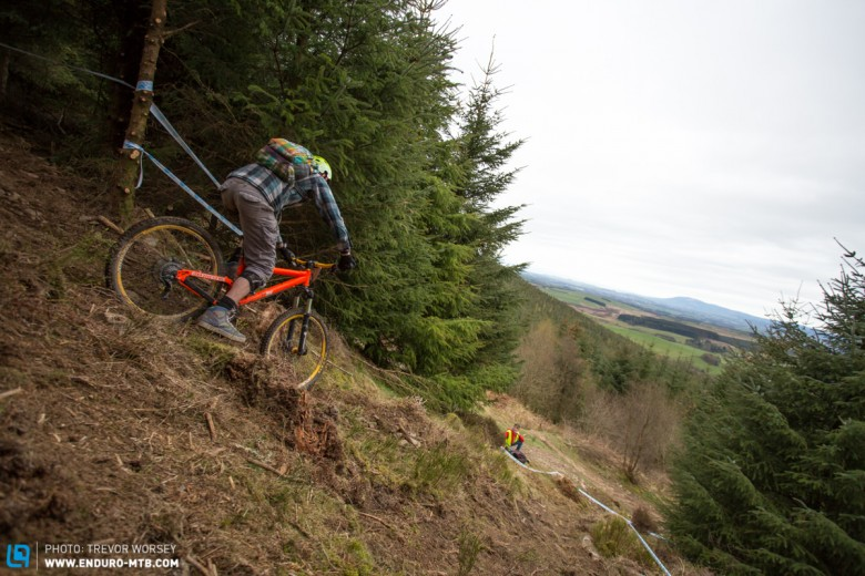 Loose and dusty, Scottish riders were fishes out of water!