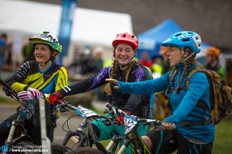 The women of Scottish enduro, a lot of skill here