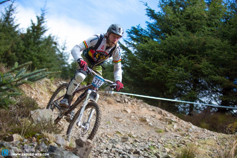This guy has been rocking that Genesis hardtail for years, the lads got the minerals