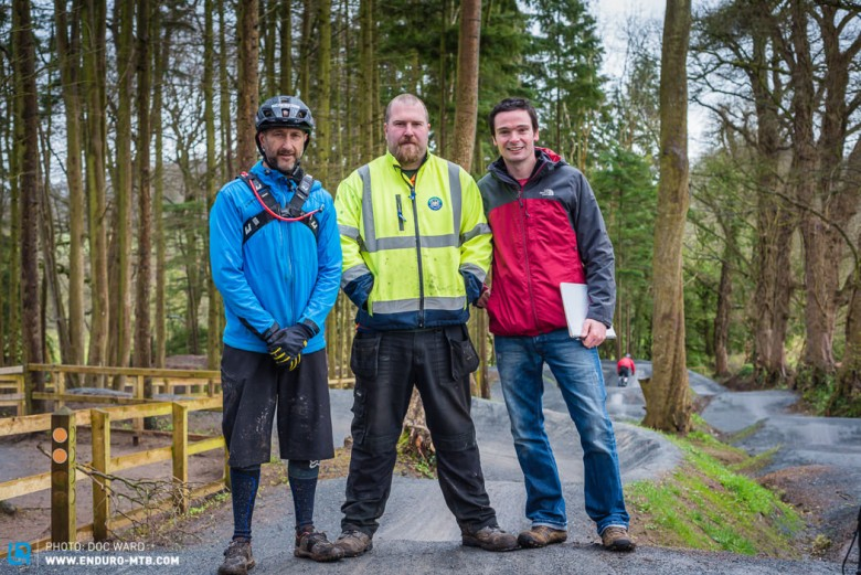 Mountain Biking NI and the local council make a great team.