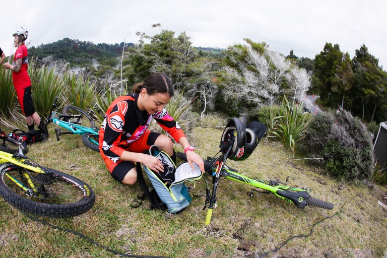Long distance, hot temperatures - the race in Rotorua was one of the hardest EWS stops yet.