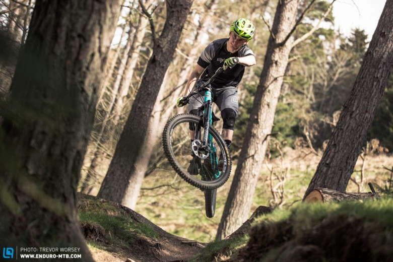 Correctly set up suspension is essential if you want to shred