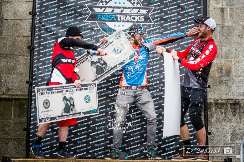 Greg Callaghan, Colin Ross and Dan Wolfe took the Pro Men's podium.