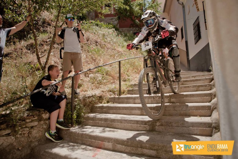 """Even the event organizers noted how horrible the last stage was - """"a terrible last one with less than 1 kilometer down, but hundreds of stairs and  28% negative slope!"""""""