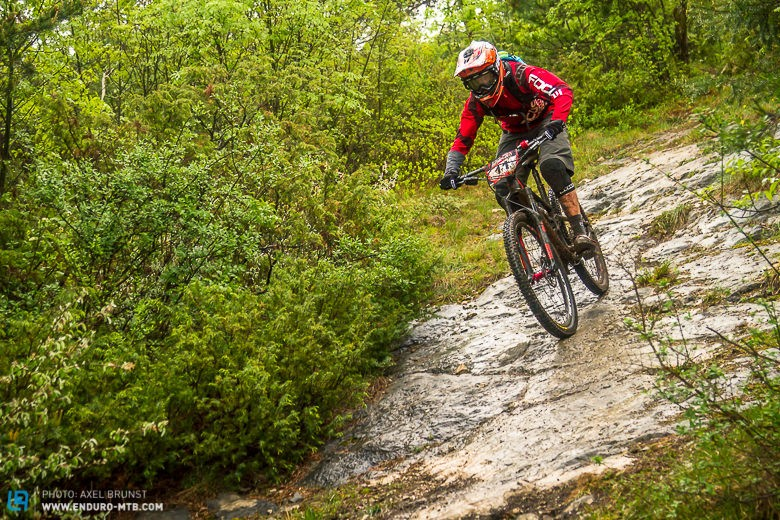 """""""Slow/tech riding section that becomes rough and than fast and flow, than technical again with interesting rocky sections."""""""