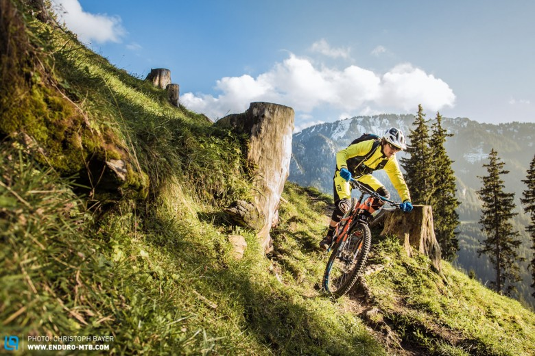 The Rocky Mountain Instinct fits snugly into the trail category, but has tones of added all-mountain bonus'