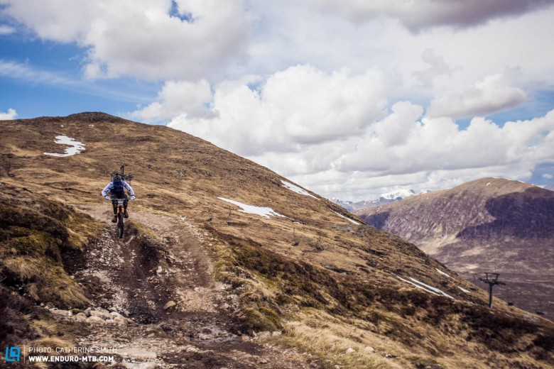Glencoe was an epic location for a race