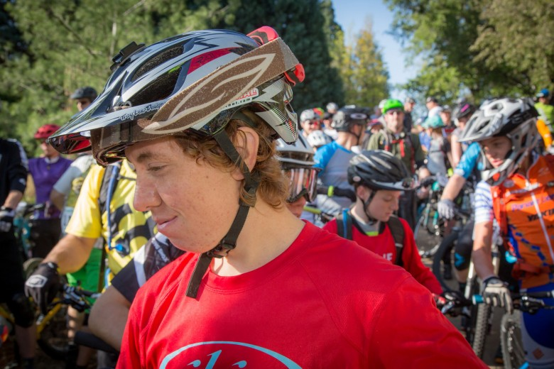 Young gun Dillon Santos would finish 4th in Pro Men for Ibis Cycles.