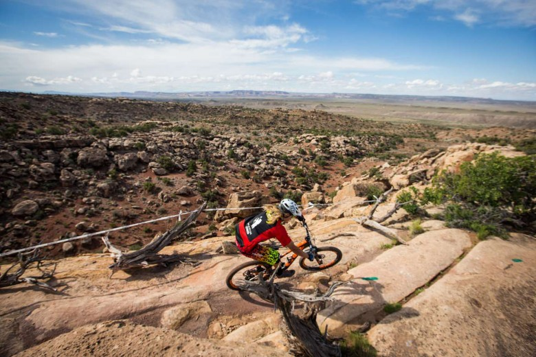 Moab is known for being technical, which some riders thrived on