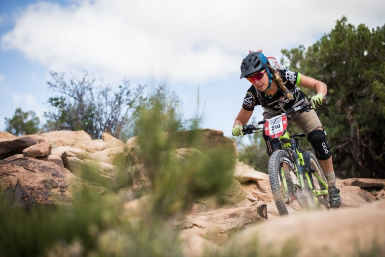 """""""My favorite part about enduro racing is the camaraderie,"""" Compton said. """"Klondike Bluffs is a good trail system for both beginner and expert riders because it's more technical the faster you go."""""""