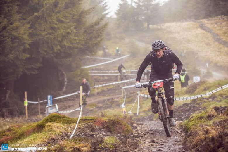 The Glentress day is going to really test riders on the pedals