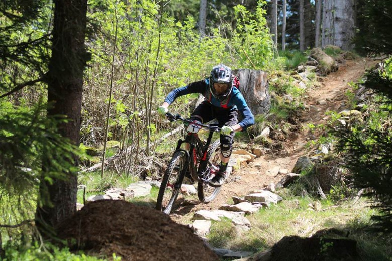 """""""This year's first race was held in Sumava few kilometers from the border with Germany."""""""