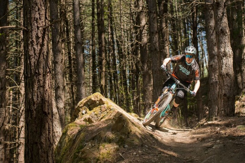 Beautifully maintained trails with fast, flowing switchbacks that are a rarity to most bikeparks...