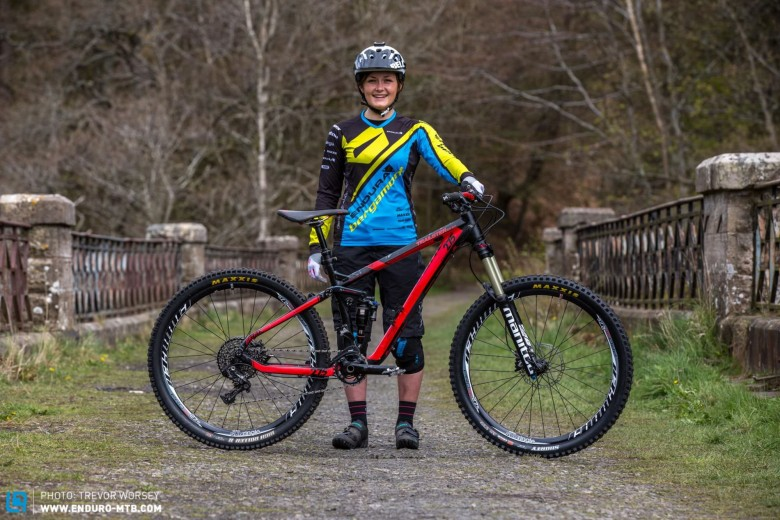 Katy finished 9th in the opening round of the EWS in New Zealand