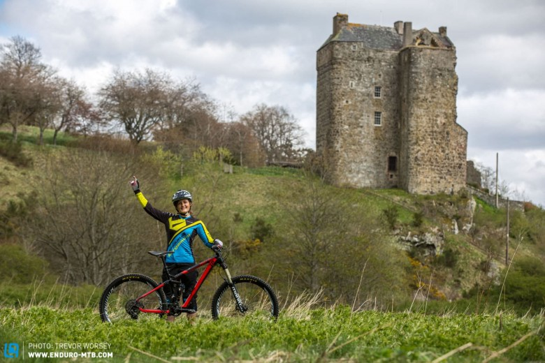 Katy is looking forward to Ireland and racing the Tweed EWS in front of a home crowd