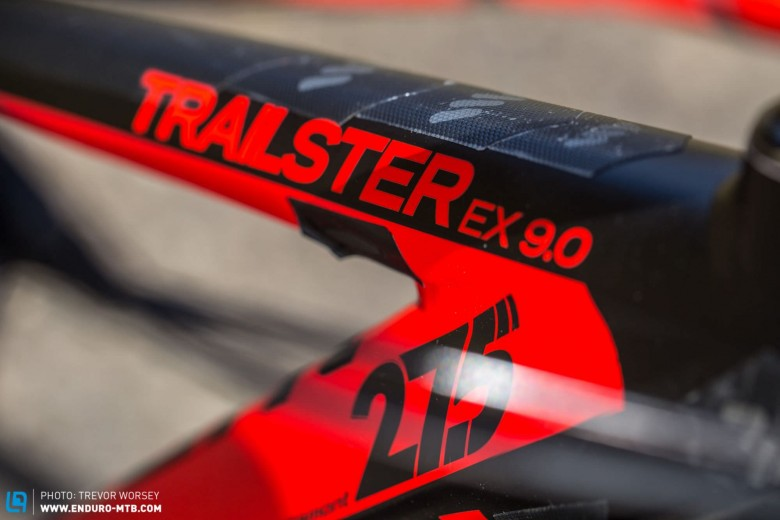 The 140 mmm Trailster is aimed at the trail/enduro rider who likes to ride aggressively