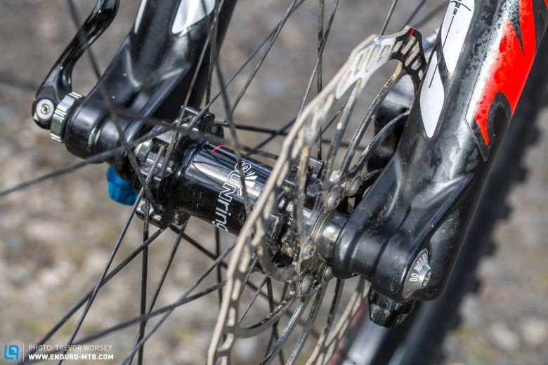 The Sun Ringle Charger Pro SL wheelset weighs in at only 1650 g