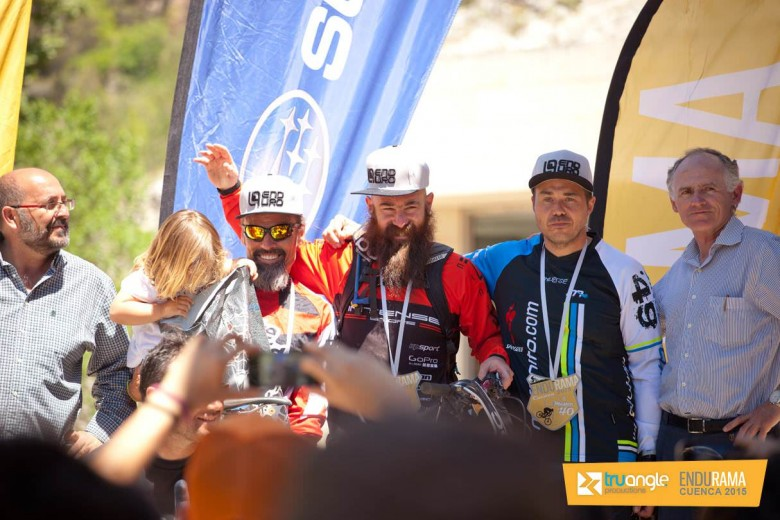 Jacobo Santana took to the tallest podium, with over 20 years experience in the bike world!
