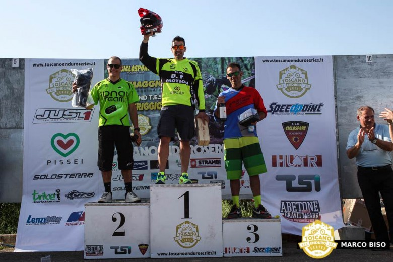 For the amateur division, Marco Mazzi put in a consistent day to take the top step, followed by Leonardo Piccini in second and Francesco Pallini in third.