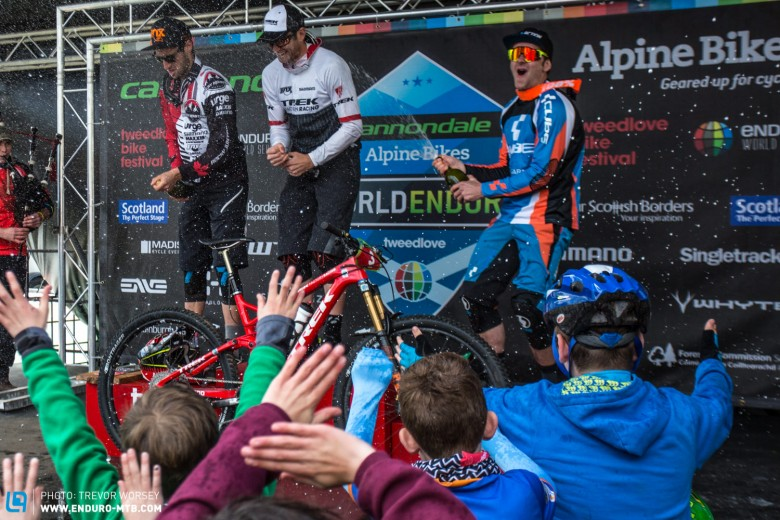 Justin Leov takes the top spot after two days of racing
