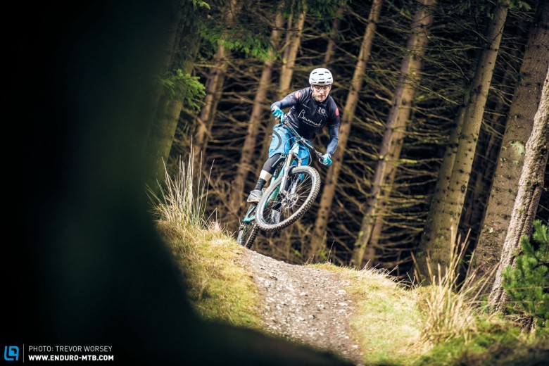 Some stages will be super fast trail centre trails - Chris Hutchens getting into it