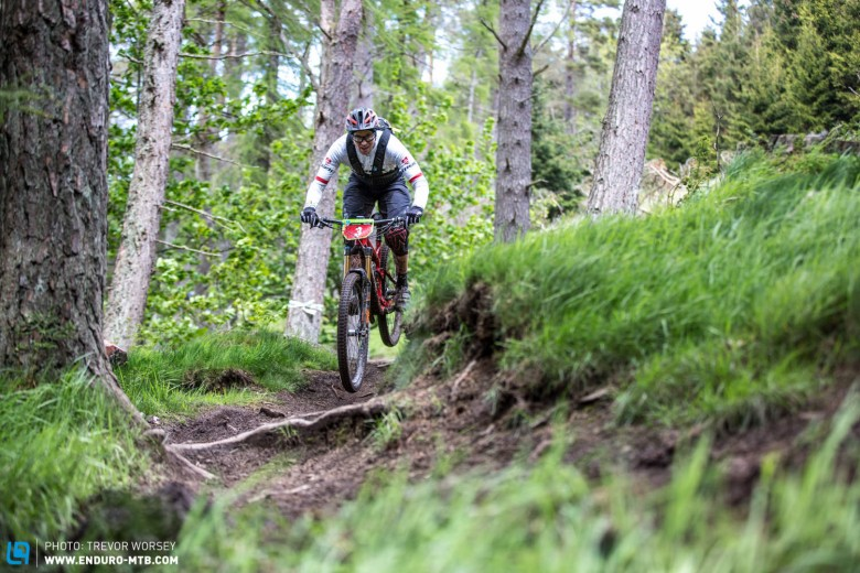 Justin Leov put in a monstrous effort on Stage 8 to take the win