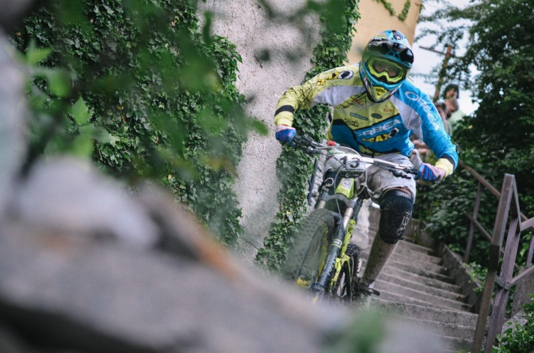 Robert Kordež on his way to a new victory in Master 1 category.
