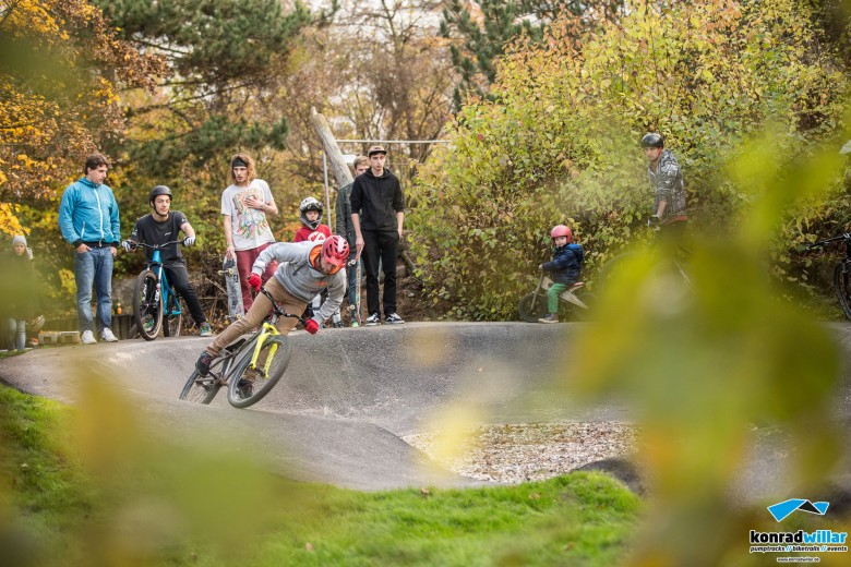 When we go down to the pump track today...You'll surely find Fabian.