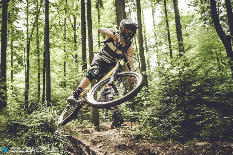 Bike park glory. A true flowing trail which provided ample amounts of opportunities to try out absolutely everything.
