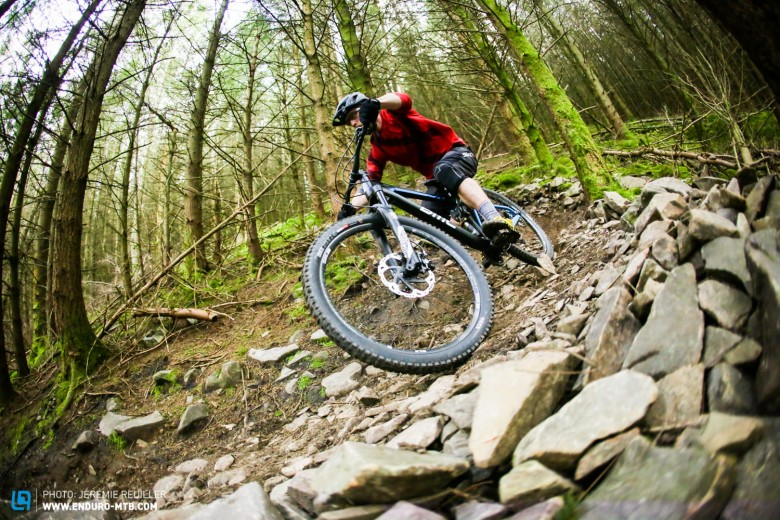 The Speedfox Trailcrew dives into corners with a nimble and accurate flick