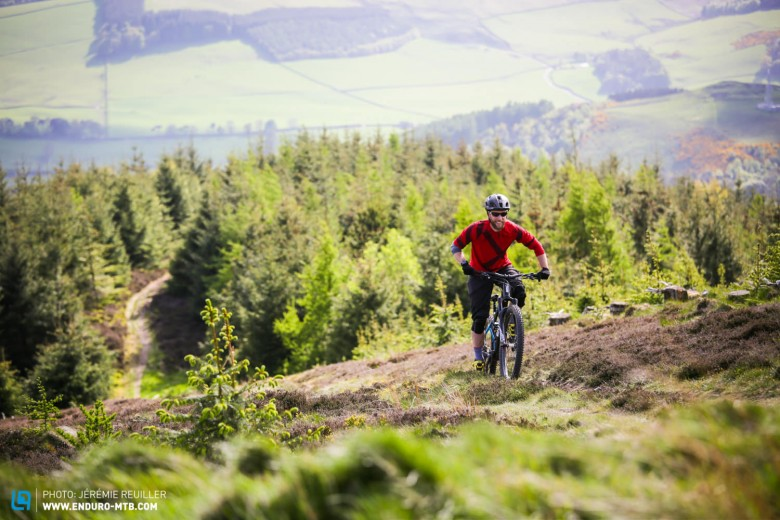 We took the BMC Speedfox Trailcrew out for a ride in the Scottish hills