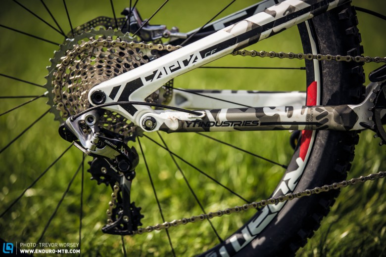 """Even the smallest touches don't get missed on this YT Capra. Awesome styling and according to Bryan, """"Style first, results second!"""""""