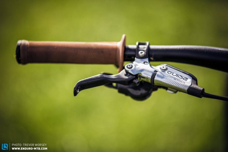 A work of art. SRAM Guide ultimate are the force behind this machine
