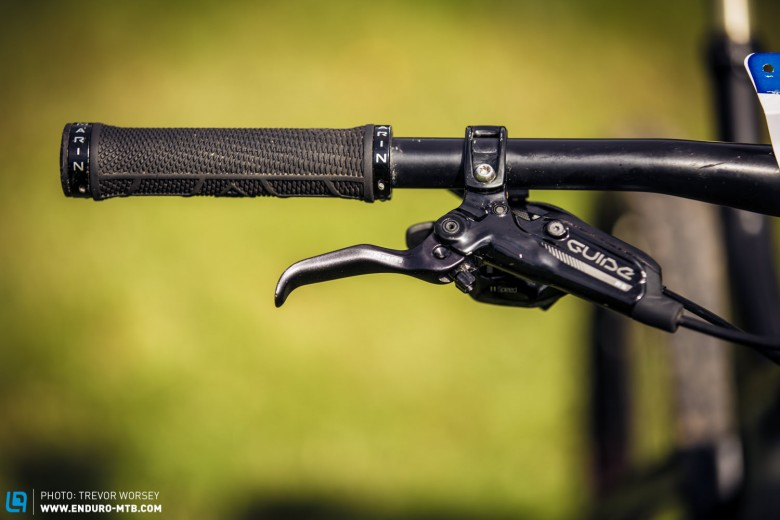 SRAM Guide brakes - a thing of beauty and